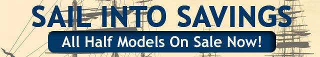 Abordage Half Hull Americas Cup Sailboat Boat Models