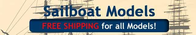 Sailboat Models Free Shipping