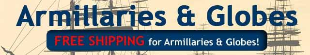 Armillaries & Globes