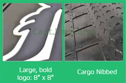 US Airforce USAF Cargo Car SUV Mat Detail