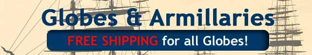 Globes & Armillaries Authentic Models