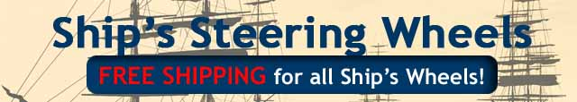 Nautical Ships Steering Wheels Free Shipping